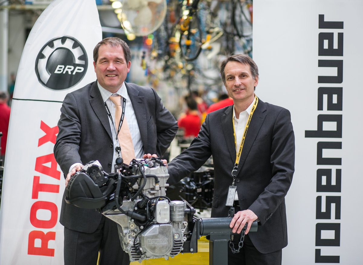 BRP's Rotax engines returning to Rosenbauer portable fire pumps